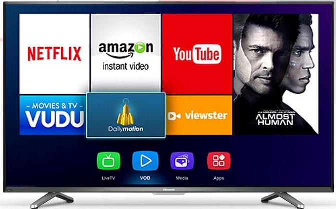 Image result for hisense 43 inch 4k smart tv